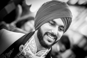 Amer portrait by Resh Rall Wedding Photography, Leeds