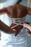 bridal dress detail by Resh Rall