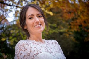 image of bride by Resh Rall wedding photographer in Leeds